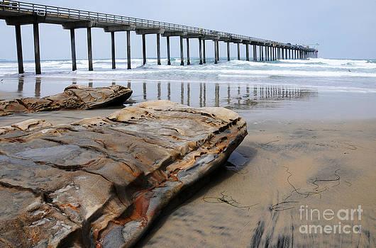Vivian Christopher - Scripps Pier and the Rock