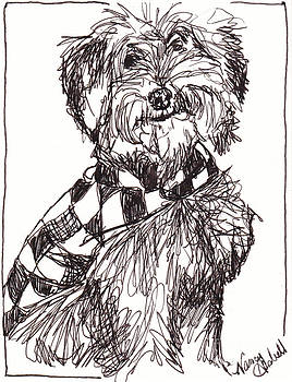 Scruffy The Rescue Dog by Michele Hollister - for Nancy Asbell