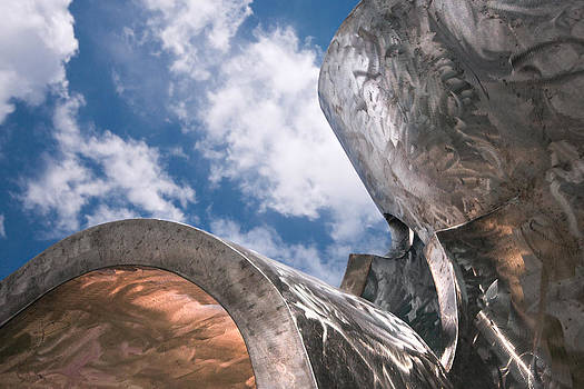 Sculpture and Sky by Tom Gort