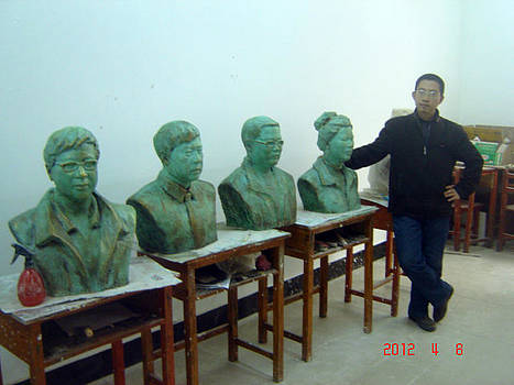 Sculpture Room by Lihuabing Lihuabing
