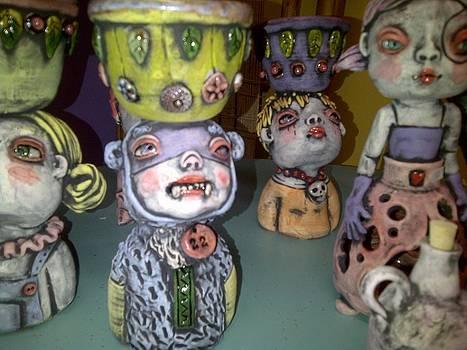 Sculptures by Kathleen Raven