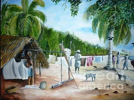 Sea Beach by Kanthasamy Nimalathasan