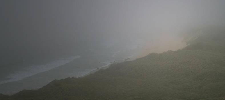 Sea Mist at Feall Bay by Steve Watson