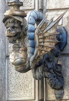 Gregory Dyer - Sea Monster Street lantern