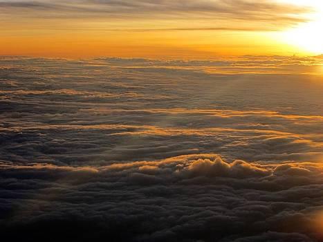 Sea of clouds by Jyotsna Chandra