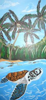 Sea Turtle by Haley Lightfoot