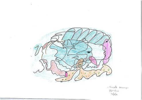 Sea World - Doodle Art by Priya Arun