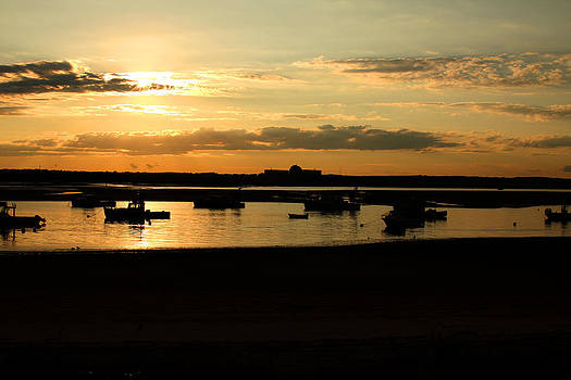 Seabrook at Sunset 1a by Robert Morin