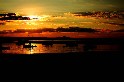Seabrook at Sunset 1b by Robert Morin