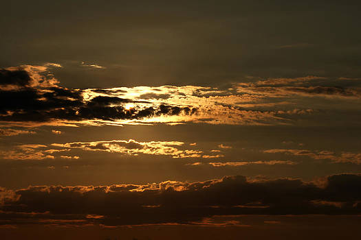 Seabrook at Sunset 2 by Robert Morin
