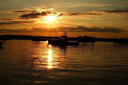 Seabrook at Sunset 3 by Robert Morin