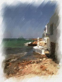 seascape in Paros by Pavlos Vlachos