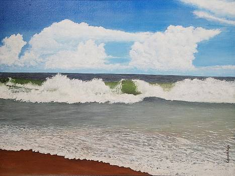 Seascape by Kishor Raja