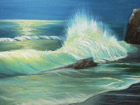 Seascape by Roopa Manjunath