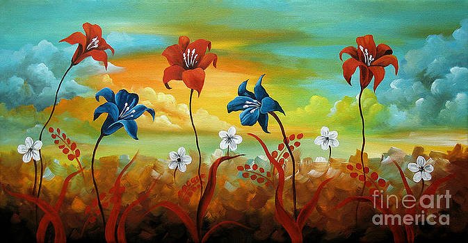 Season Flowers by Uma Devi