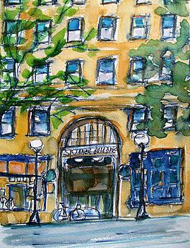 Allen Forrest - Seattle Fifth Avenue Skinner Building Entrance