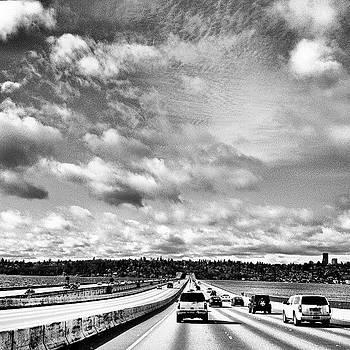 Seattle Floating Bridge by Chris Fabregas