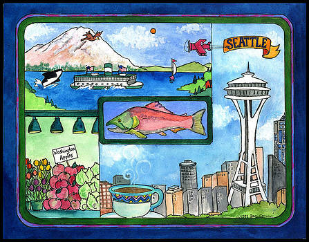 Seattle  by Pamela  Corwin