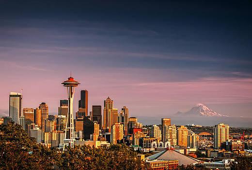 Seattle Skyline by Brian Bonham