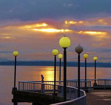 Seattle Sunburst by Feva  Fotos