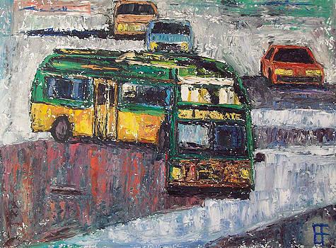 Allen Forrest - Seattle Transit Bus Turning