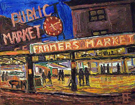 Allen Forrest - Seattle Wa Public Market Center