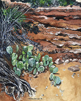 Sedona Cactus by Marla Saville