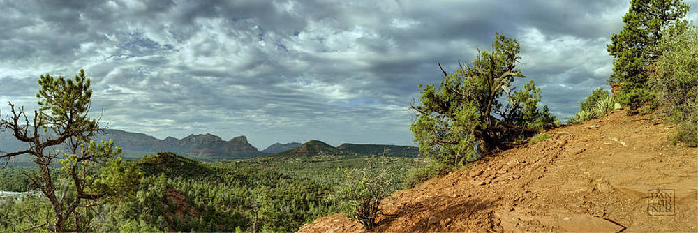 Dan Turner - Sedona From the Top of Jordan Trail