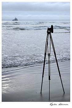 Seeing Grandpas View  Tillamook Lighthouse Oregon Coast by Nyla Alisia