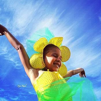 seeking The Sun It Was Dress by Aja Reed