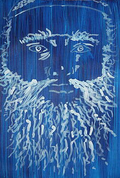 Jonathan Kotinek - Self Portrait in blue