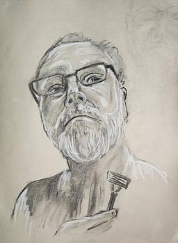 Self Portrait by Peter Edward Green