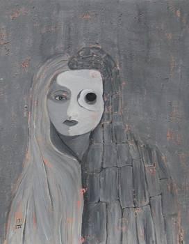 Self Portrait  by Rosemen Elsayad