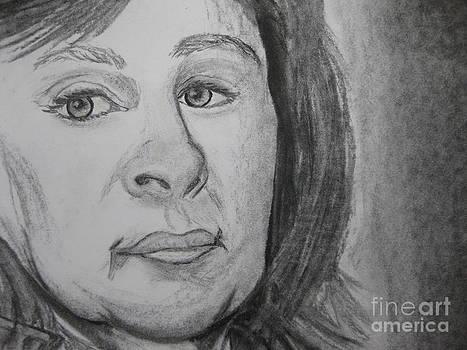 Stella Sherman - Self Portrait