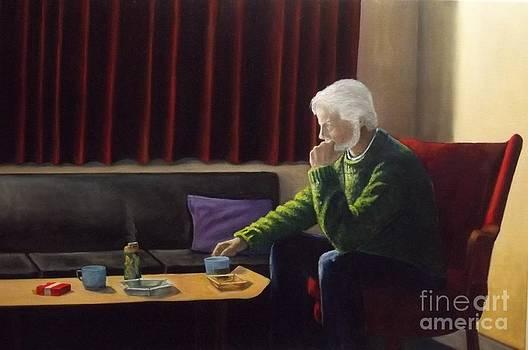 Self Portrait Todays Image Variation on a Theme by Michael John Cavanagh