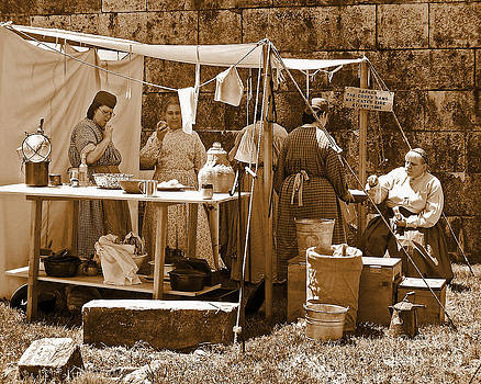 Anne Ferguson - Sepia Historical Reenactment