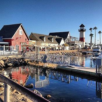 Serenity! #oceansideharbor #lighthouse by Lauren Laddusaw