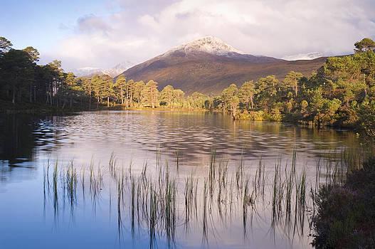 Howard Kennedy - Sgurr na Lapaich from Loch Salach a Ghiubhais in Glen Affric