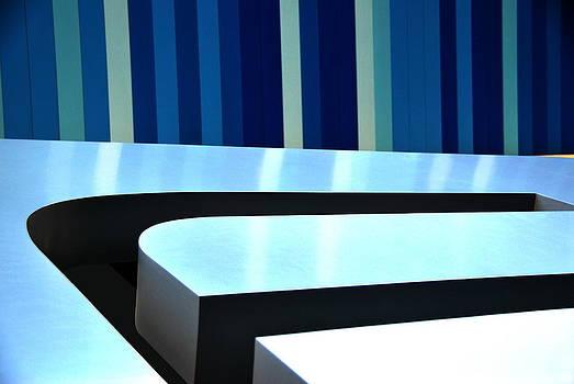 Shades of Blue by Floyd Menezes
