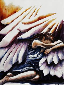 Shadow of His Wings by Maureen Dean