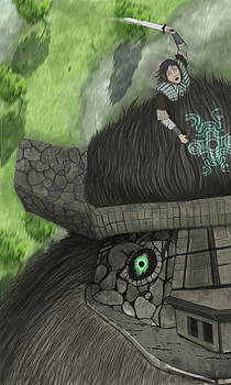 Shadow of the Colossus by Phil Vance