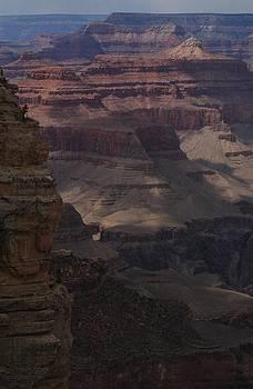 Shadows on the Canyon by Wanda Jesfield