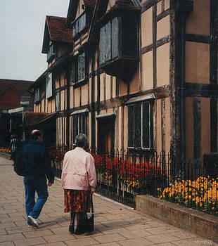 Shakespeare's birthplace by Marija Djedovic