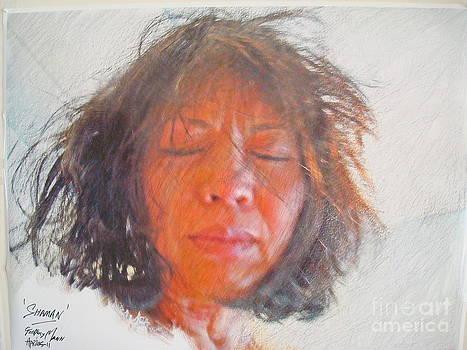 Shaman Healer by Geoffrey Mann