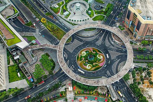 Shanghai Detail by Viktor Lakics