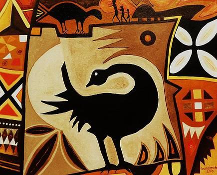 Shankofa bird by Lanre Buraimoh