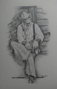 Shannon Ranch Cowboy by Omar Garza