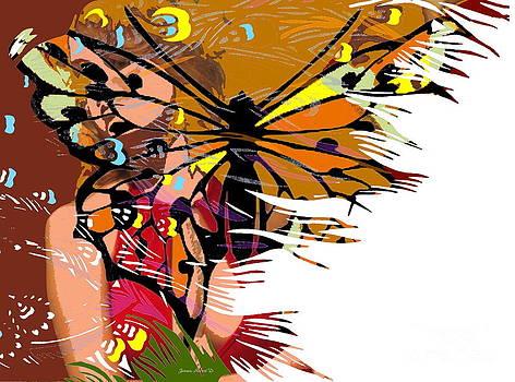 She Gave me Butterflies by Robert Jensen