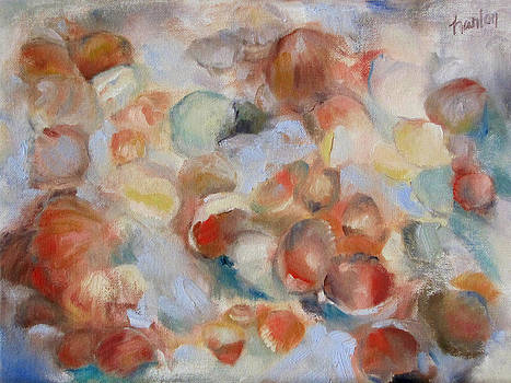Shell Impression I by Susan Hanlon