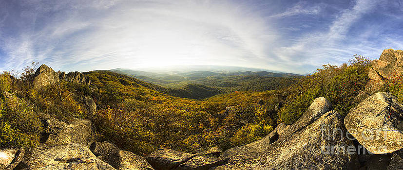 Shenandoah National Park Panoramic by Dustin K Ryan